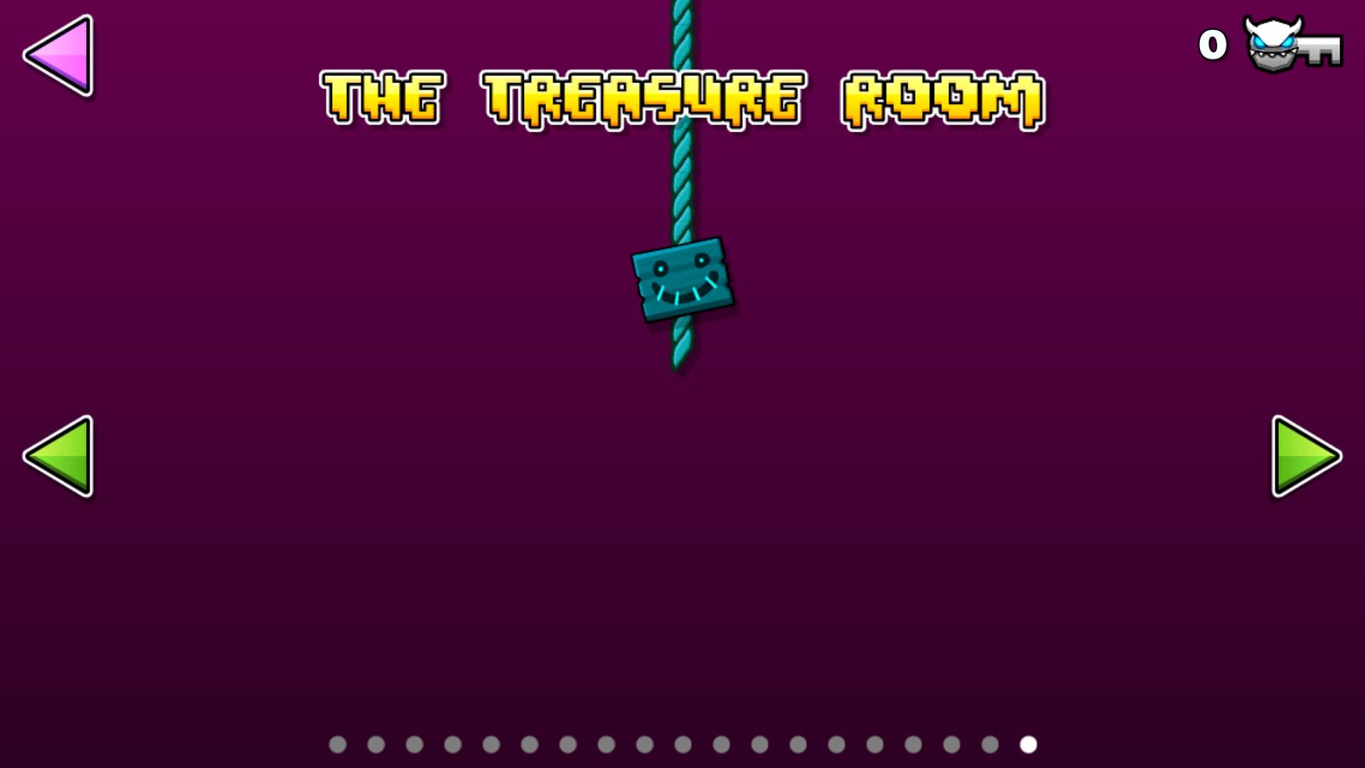 Geometry Dash   Treasure Room