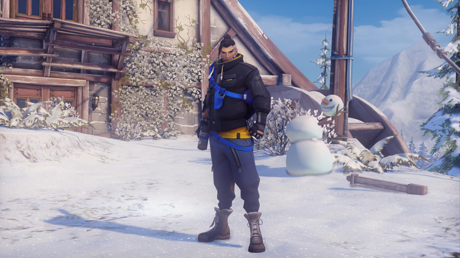 hanzo winter skin