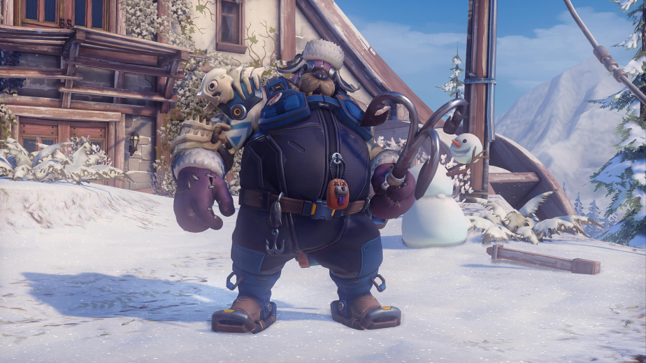 roadhog winter skin