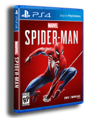 Right side spider-man PS4 Cover