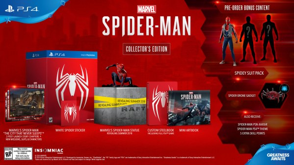 Spider-Man PS4 Collectors Edition